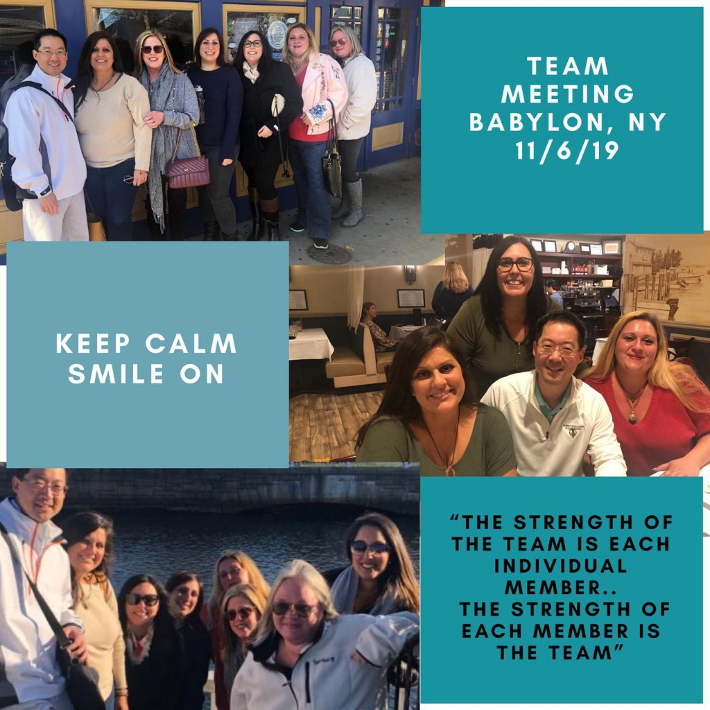 Team off-site meeting BABYLON NY